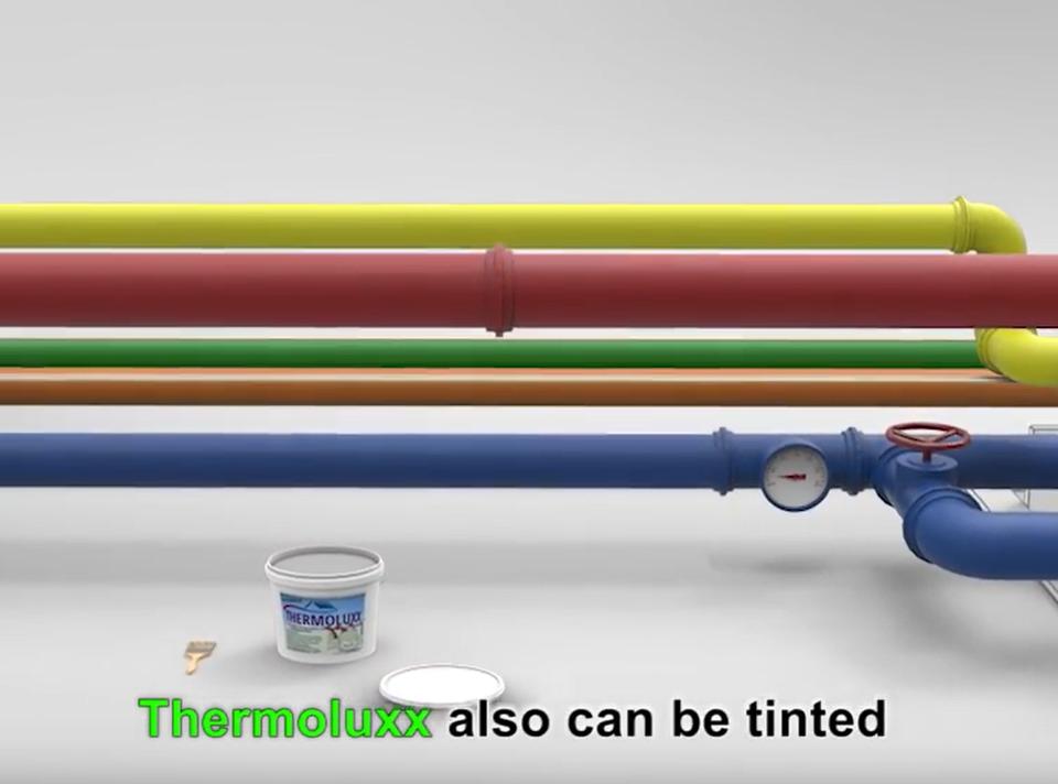 Thermoluxx mag auch Farben